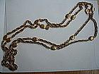 """Vintage CHANEL  France 1970s 72"""" Necklace / Belt"""