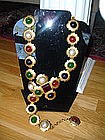 CHANEL Runway Belt or Necklace with GRIPOIX glass