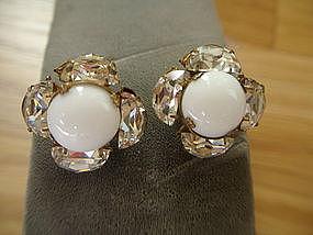 Miriam Haskell Vintage Earrings