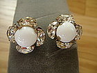 Miriam Haskell Vintage Earrings