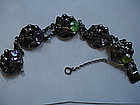 HOBE Sterling Silver Bracelet with Large Stones
