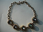 Elsa Schiaparelli Large 5 Stone Necklace