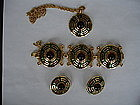 Crown Trifari Asian Necklace, Bracelet, Earring Set