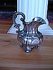 German 13 Loth Sterling Continental Silver Pitcher