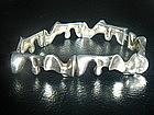 Lapponia Sterling Silver Modernist Bracelet ~ Weckstrom