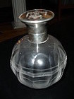 Victorian Sterling Silver Tortoise Scent Bottle Perfume