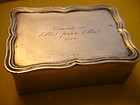 1944 Sanborns Mexican Sterling Silver Box
