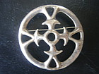Early JUHLS Norway Sterling Silver Brooch