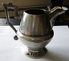 Early Russian Sterling Silver Cream Pitcher