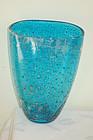 Barovier & Toso Murano Glass Vase Laguna Gematta C:1950
