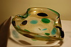 Fratelli Toso Murano glass bowl C:1960