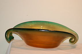 Barovier & Toso Murano Glass bowl C:1960
