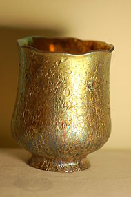 Tiffany Studios Cypriote glass shade exceptionally rare C:1905