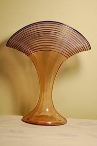 Kralik Loetz type Bohemian Czech glass vase C:1920