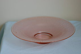 Schneider Le Verre Francais French art glass dish C:1930