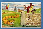 1909 Julius Bien Comic Halloween Post Card