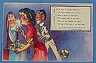 Early Comic Halloween Post Card