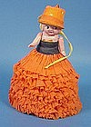 Vintage Halloween Celluloid Doll Party Favor
