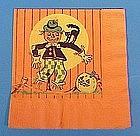 Vintage Halloween Paper Party Napkin