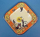 Vintage Halloween Party Paper Plate