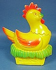 Plastic Hen on Nest Easter Candy Container