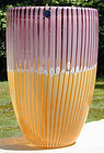 Cenedese Murano Canne Vase