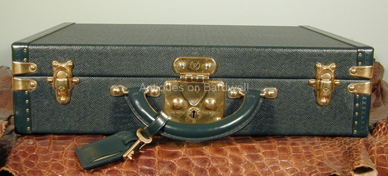 Louis Vuitton President Briefcase Taiga Leather