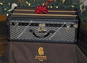 Goyard Suitcase Trunk  Never Used Luxury!