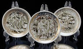 Fornasetti 'Mitologia' Coaster Set for Bonwit Teller