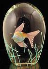 Cenedese Licata Aquarium Paperweight
