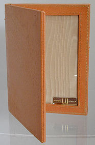 Dunhill Leather Double Picture Frame