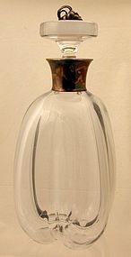 Strombergshyttan Sterling Mounted Decanter