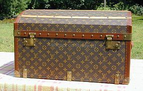 Louis Vuitton Child's Trunk - Rare and Exceptional!