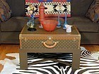 Louis Vuitton Coffee Table Trunk - Decorators Delight!