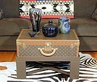 Louis Vuitton Coffee Table Trunk - Beautiful!