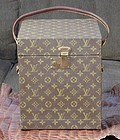 Louis Vuitton Traveling Wig Box - Very Rare!