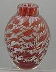 Orrefors Slip Graal Vase Signed Edward Hald