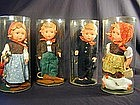 Goebel Hummel Dolls - Set of Four