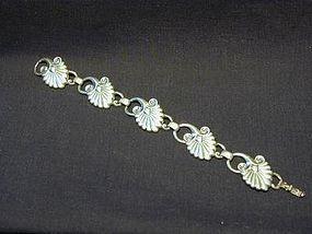 Kreisler Sterling Bracelet - Art Nouveau Style