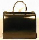 Lederer Handbag with Hidden Jewel Box