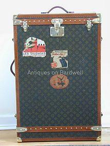 Vintage Louis Vuitton Wardrobe Trunk