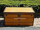 Louis Vuitton Orange Steamer Trunk