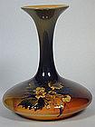Rookwood Floral Vase Artist Signed MLP Dated 1895
