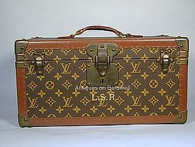 Louis Vuitton Train Case - Travel in Style!