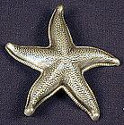 Beau Sterling Starfish Pin
