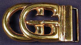 Gucci Signature Logo Belt Buckle