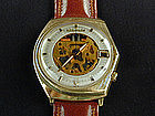 Bulova Accutron Spaceview Watch in 14KT GOLD
