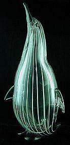Signed Zanetti Penguin Sculpture