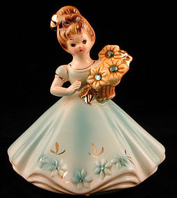Josef Originals Birthstone Girl March Aquamarine
