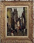 "Francois Gall (1912-1987) ""Rouen"""
